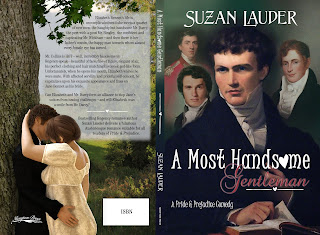 Book Cover: A Most Handsome Gentleman by Suzan Lauder