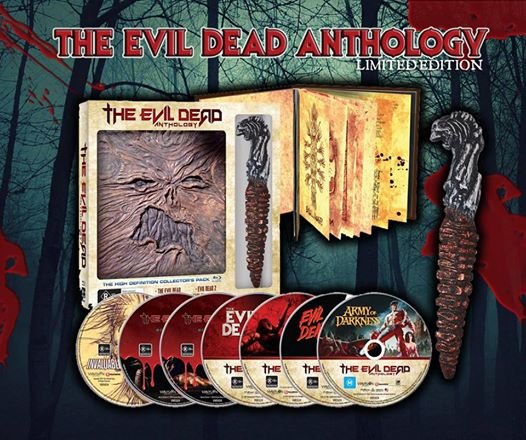 The evil dead 2013 ver. Unrated limited edition box set with.