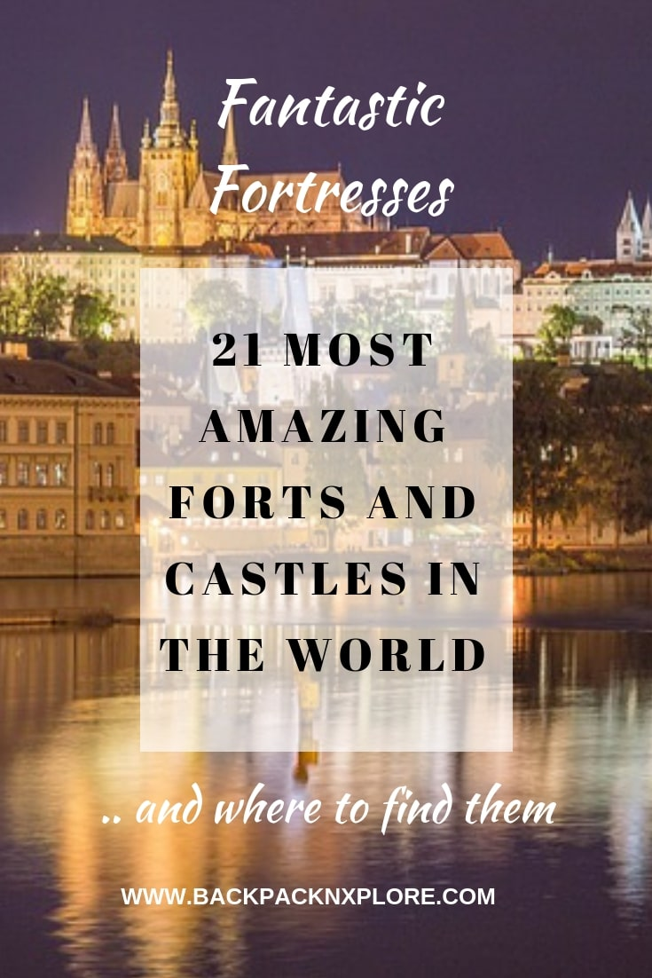21 Best Forts and Castles to explore in the World