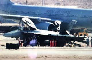Jet Tempur EA-18G Growler RAAF Terbakar