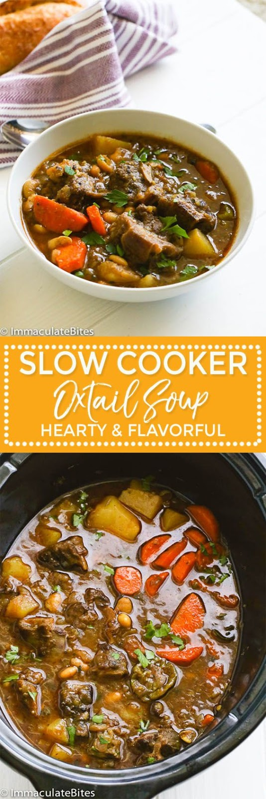 Slow Cooker Oxtail Soup Recipes