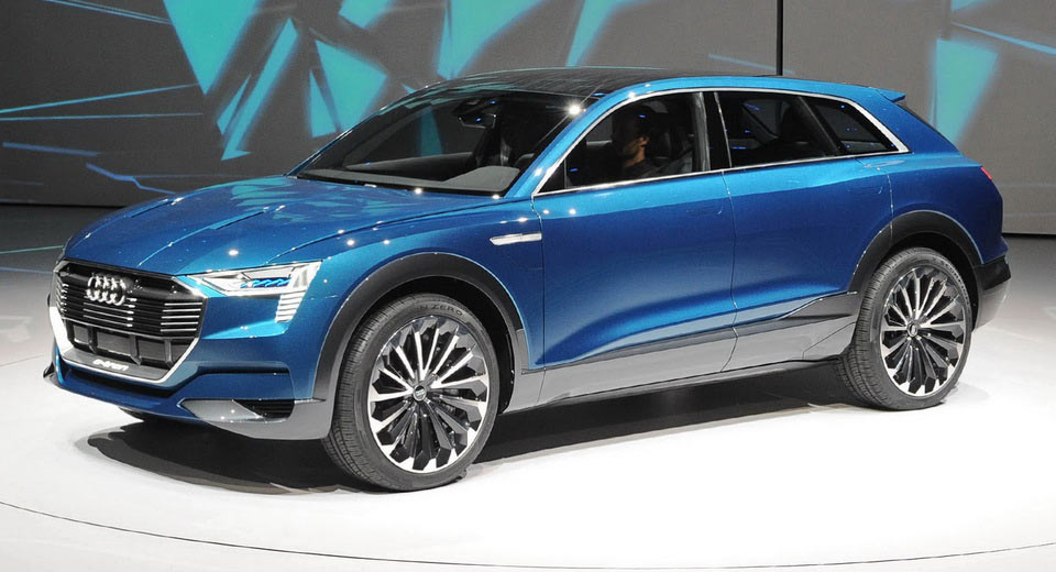 Audi Exec Speaks Out About All Electric 2018 E Tron Suv
