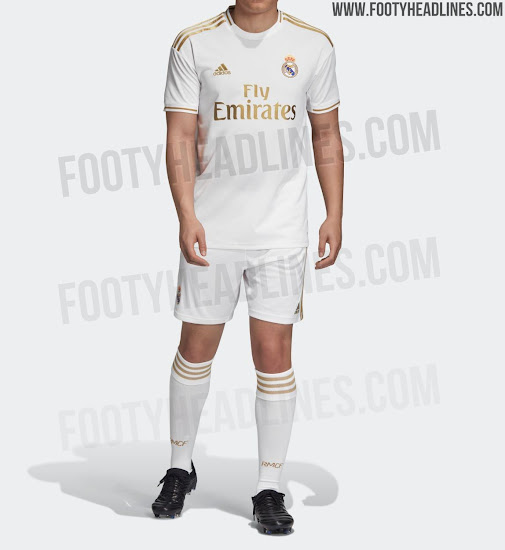 new arrival cff0f 05cf6 Real Madrid 19-20 Home Kit Released - Footy Headlines