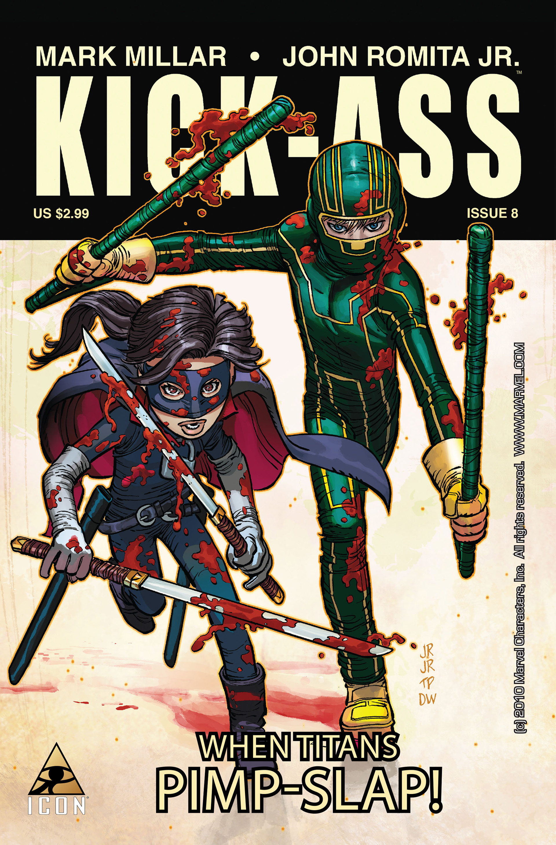 Kick-Ass (2008) issue 8 - Page 1