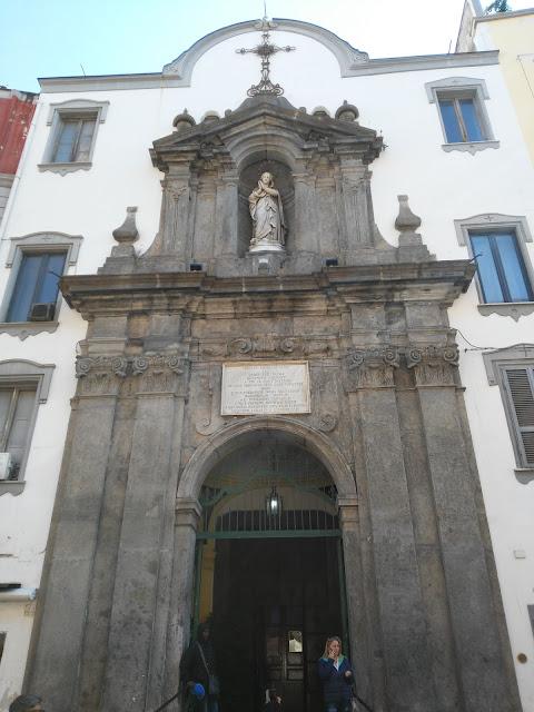 Chiesa di Santa Maria dei Vergini-Rione Sanità-Napoli