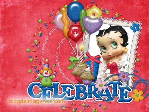 Tarjetas Cumpleaños Betty Boop