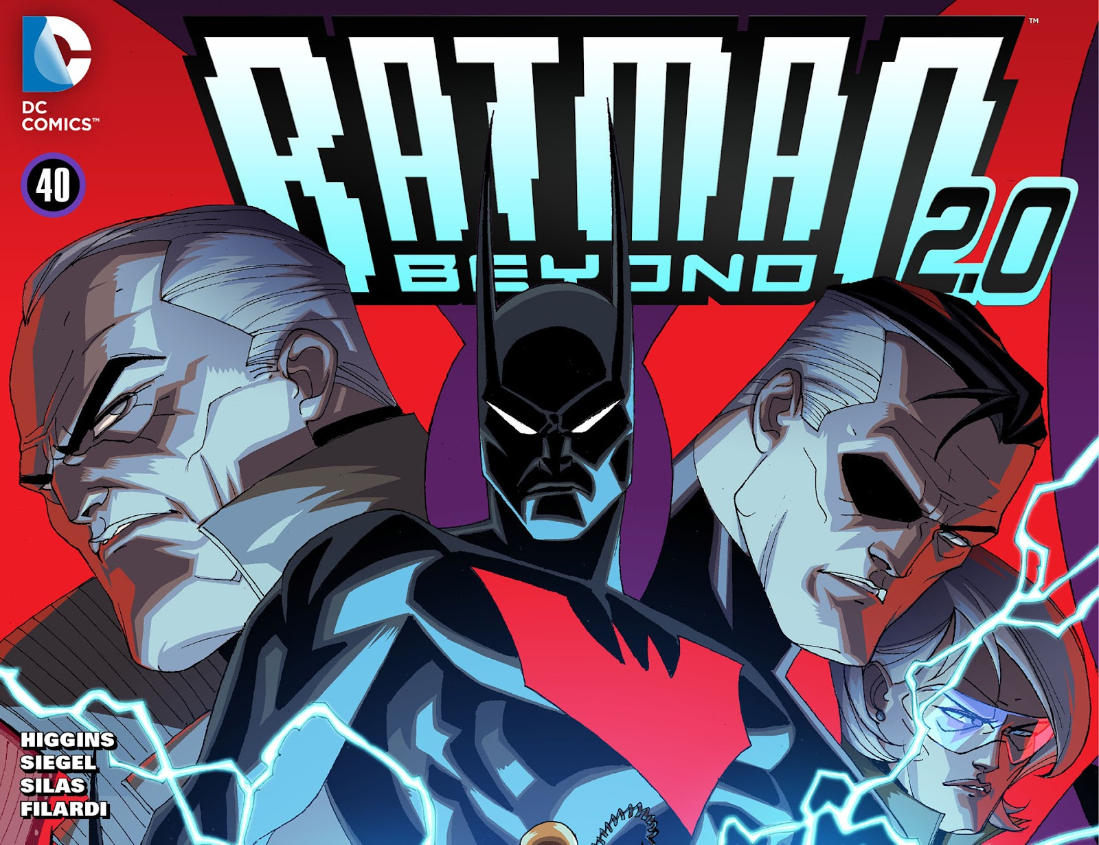 Batman Beyond 2.0 issue 40 - Page 1
