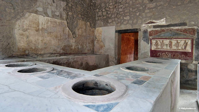 Restored Pompeii kitchens show how Romans cooked