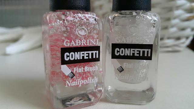confetti oje