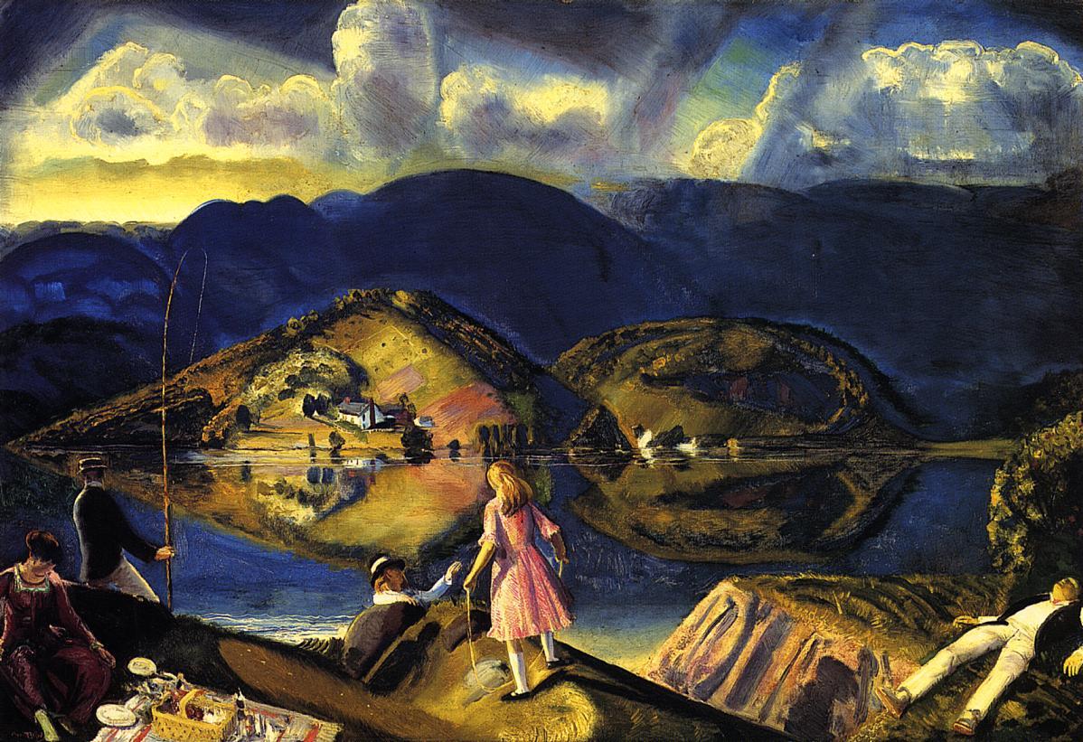 Ashcan School Of Art Paintings