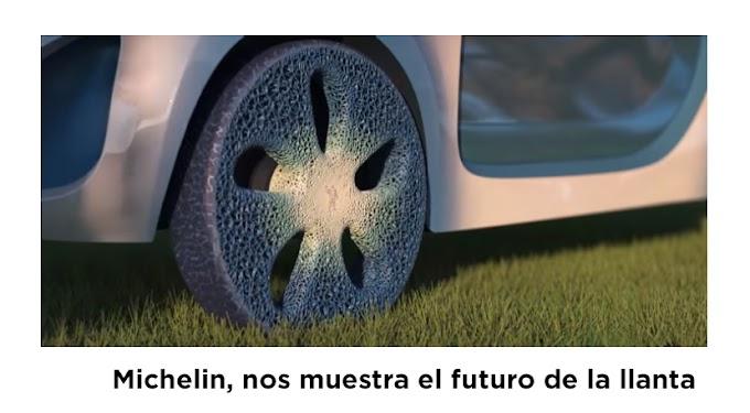 Michelin muestra su concepto de la llanta del mañana