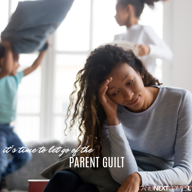 An important reminder about mom guilt or parent guilt