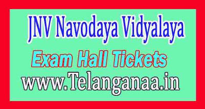 JNV Navodaya Vidyalaya Samiti 6th Class Exam Hall Tickets