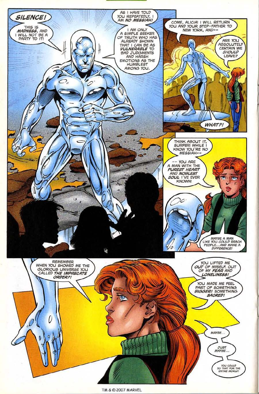 Read online Silver Surfer (1987) comic -  Issue #133 - 22