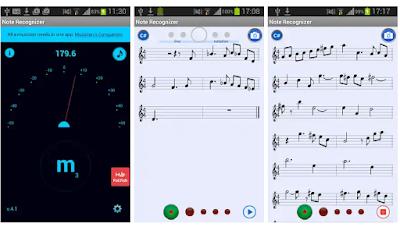 تحميل تطبيق Note Recognizer بيحول أي صوت لنوته مفيد جذا للموسيقيين