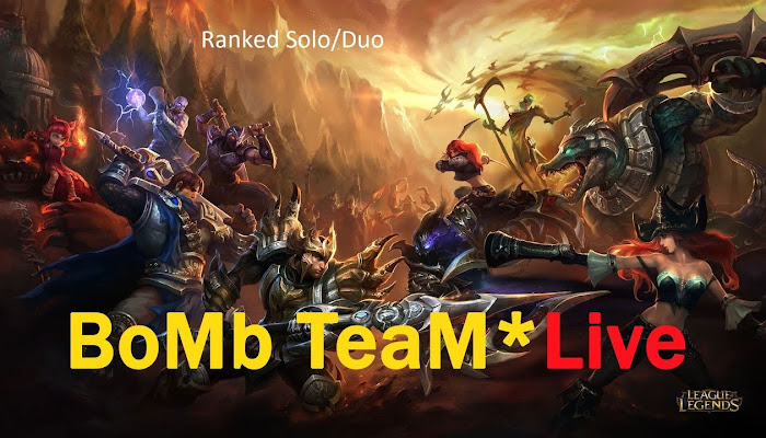 BoMb TeaM SOLO/DUO - Live Stream RANKED - League of Legends
