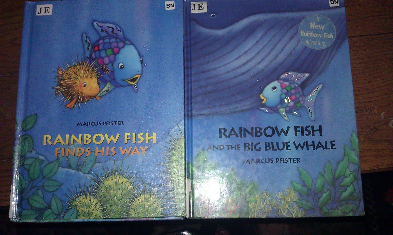 Rainbow Fish Story Printables