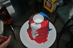 Happy Crafty Kids: Model Magic Erupting Volcano