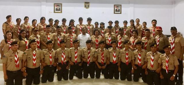 Kontingen Gerakan Pramuka Kwarcab Minahasa Bupati JWS Jaga nama Daerah Minahasa
