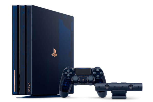 500 Million Limited Edition PS4 Pro gaming console launched