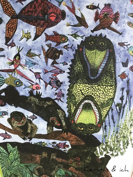 Kinderbuch Krokodils Geburtstag