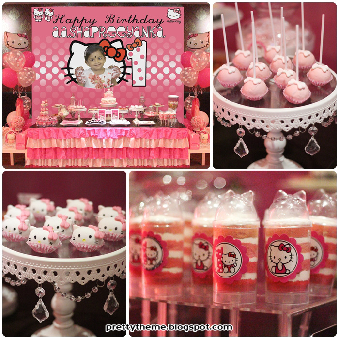 Pretty Theme Event Planner Candy Buffet