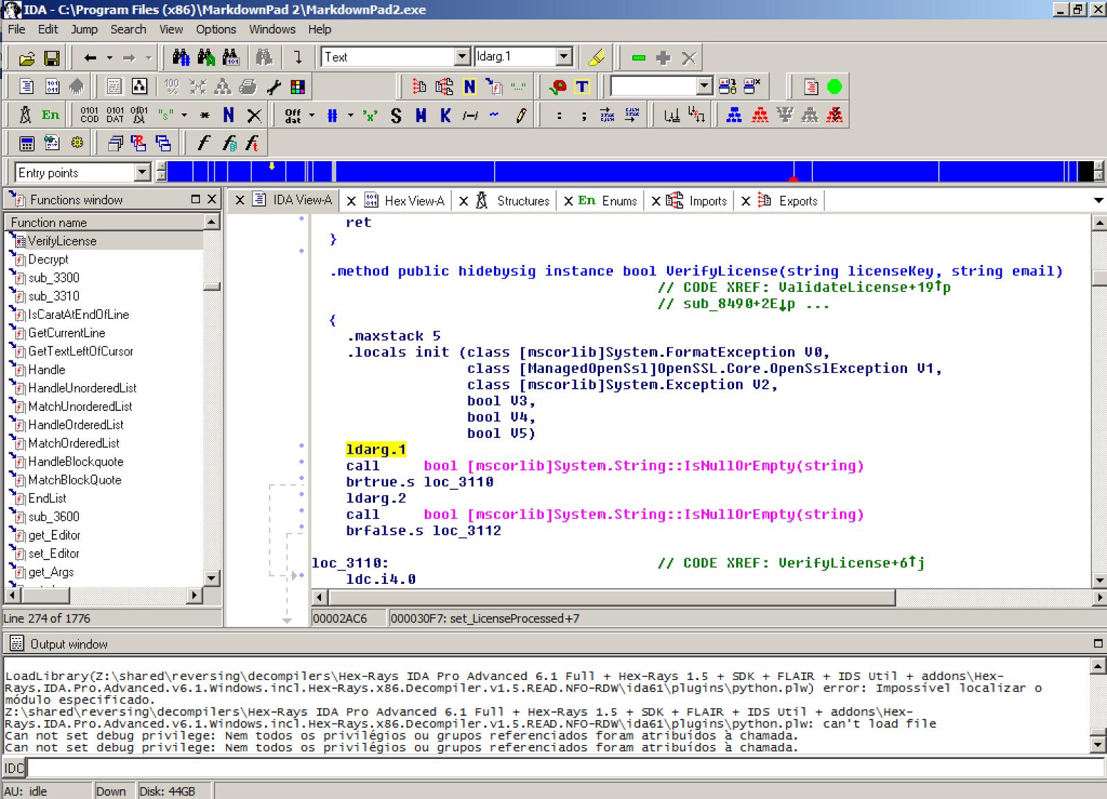 iamjuza: Unlocking MarkdownPad 2