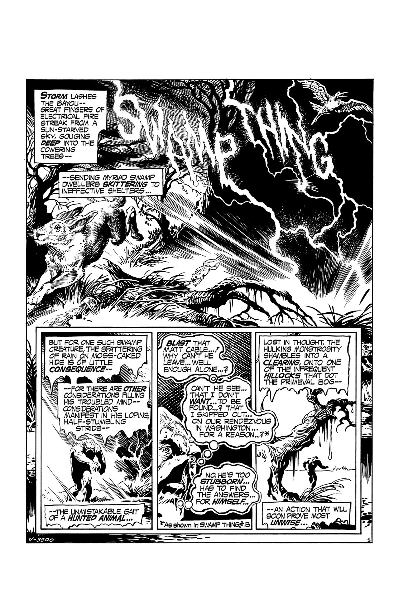 Swamp Thing (1972) Issue #15 #15 - English 2