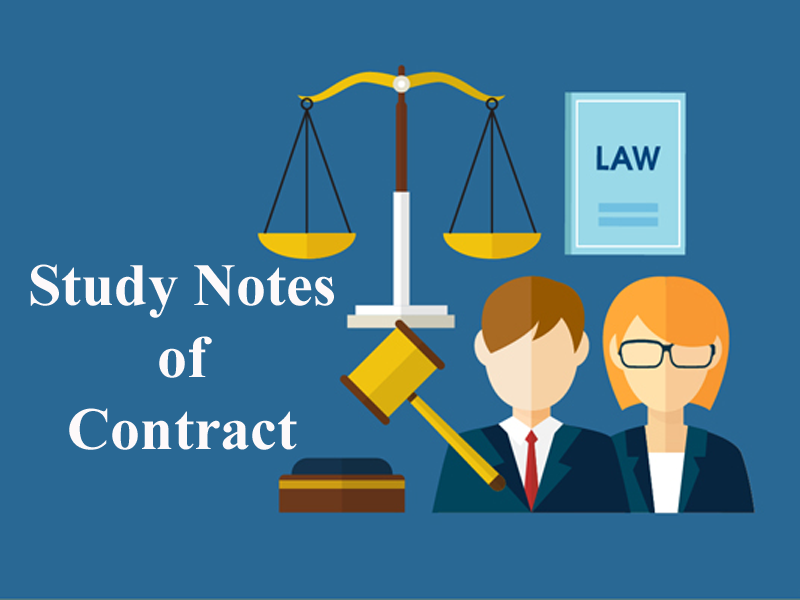 Study Notes on Contract