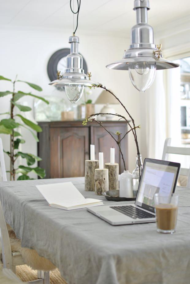 hannashantverk.blogspot.se matrum dining room matbord vår kvistar