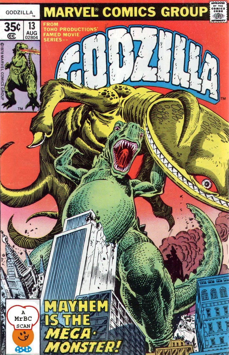 Godzilla (1977) 13 Page 1