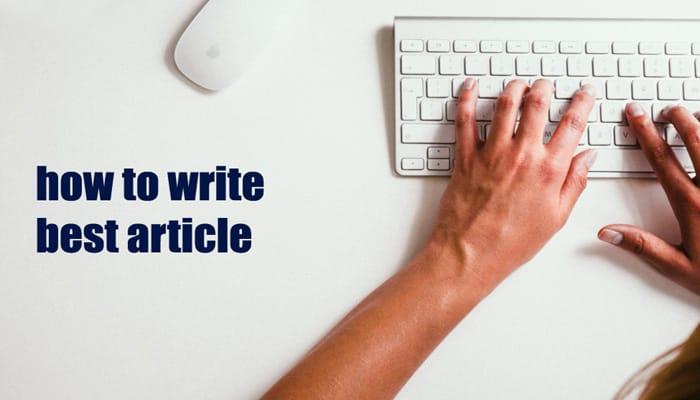 elemen menulis artikel