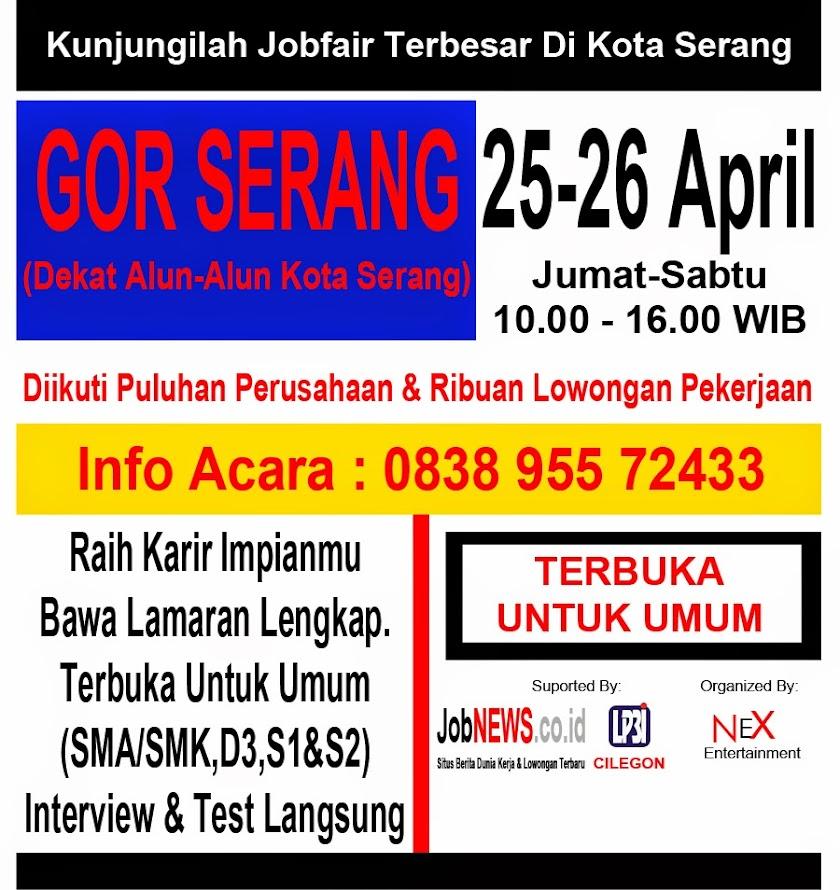 Job Fair April 2014 KotaSerang.Com
