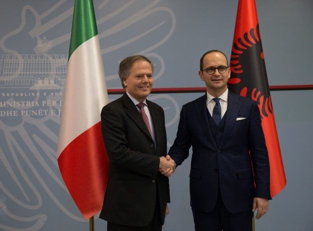 Italy supports Albania to assume the OSCE chairmanship in 2020
