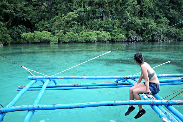 Green Lagoon, Coron Palawan Philippines