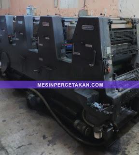 mesin cetak 4 warna Heidelberg GTOV 52
