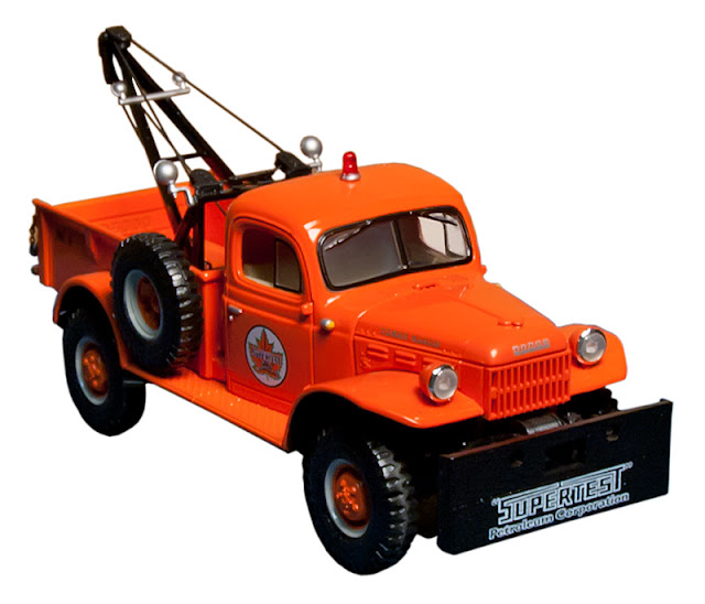The no. 3 Supertest toy tow truck collective (number three in the series).