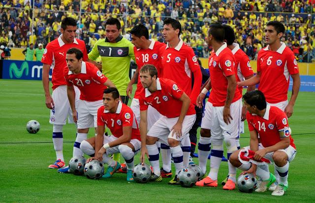 Formación de Chile ante Ecuador, Clasificatorias Brasil 2014, 12 de octubre de 2012