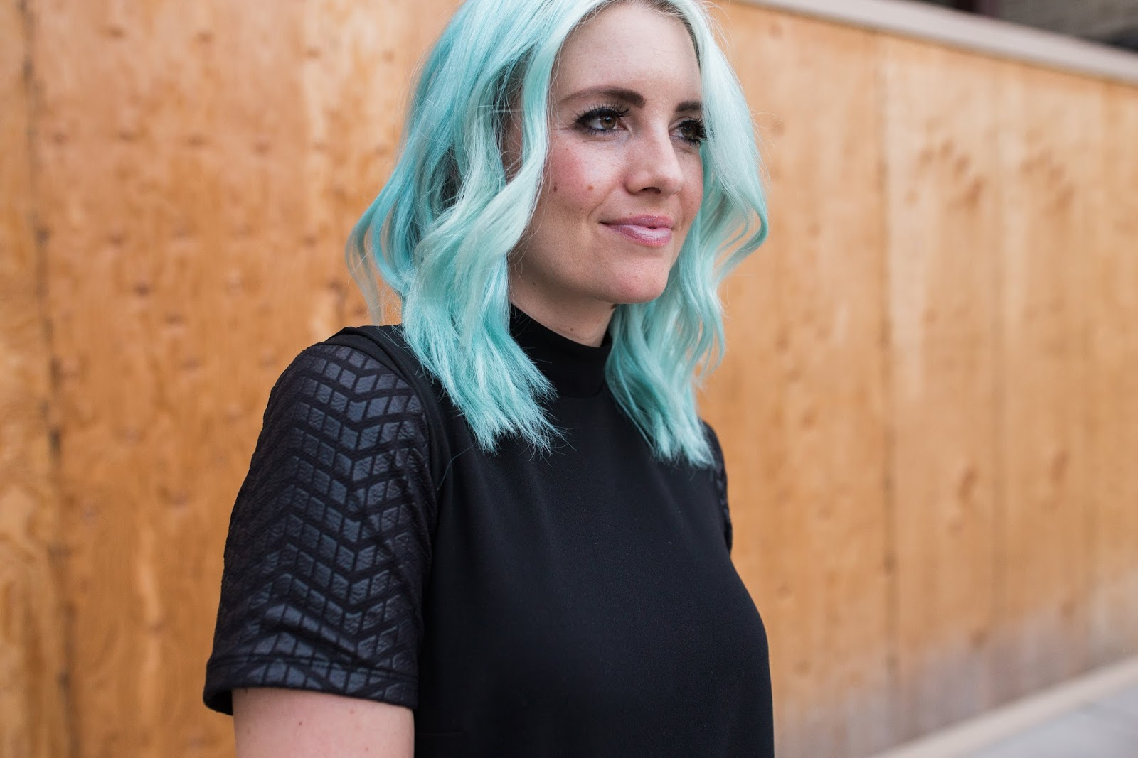 Blue Hair, BLETS, Modest Layering Shirts