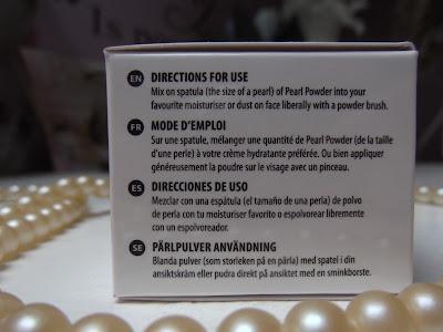 Moroccan Natural perlový prášok popis