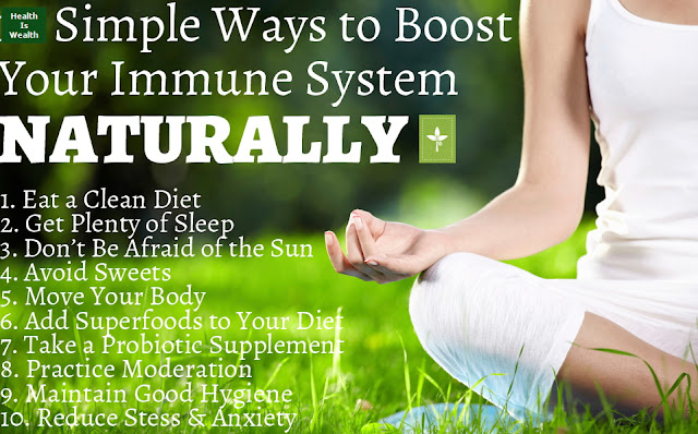 natural ways boost immune system