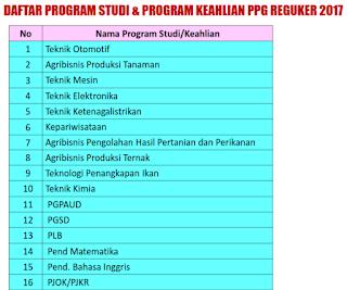 Program PPG 2017 reguler bersubsidi http://ppg.ristekdikti.go.id