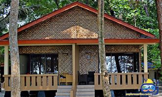flipper cottage di paket wisata pulau sepa resort pulau seribu