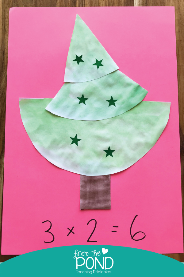 Make This Easy Christmas Tree Craft with Your Kids By Cutting A Green Circle Of Paper