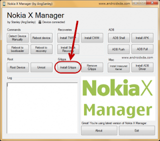 Framaroot Nokia X X+ XL