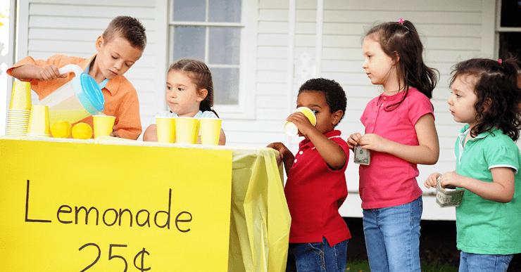Ideas de negocios para niños emprendedores