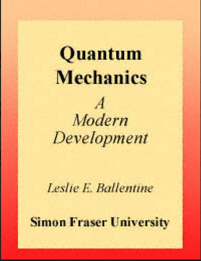 Quantum Mechanics a modern development PDF download