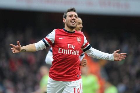 Arsenal không thể sống thiếu Cazorla