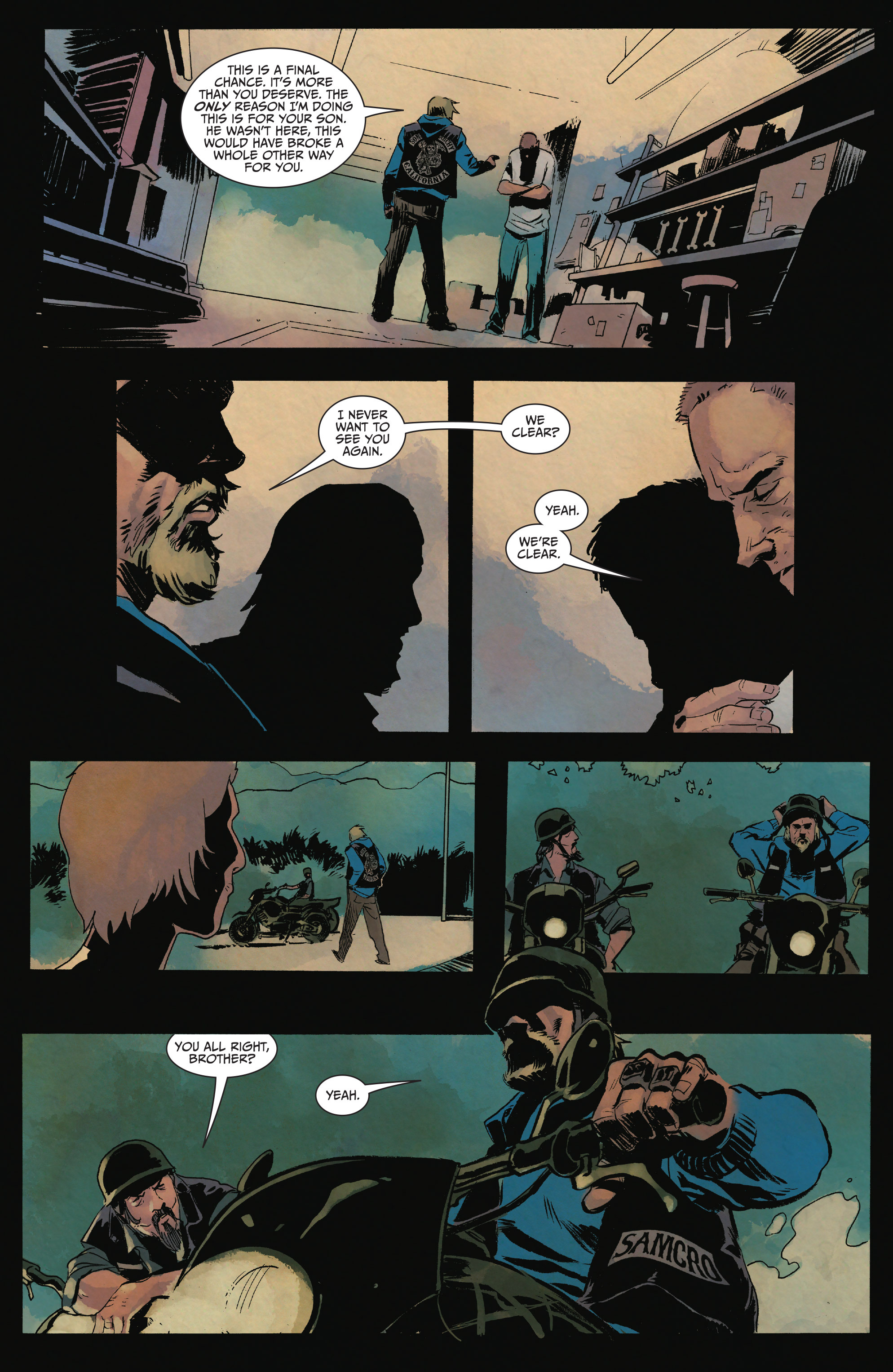 Read online Sons of Anarchy comic -  Issue #15 - 23