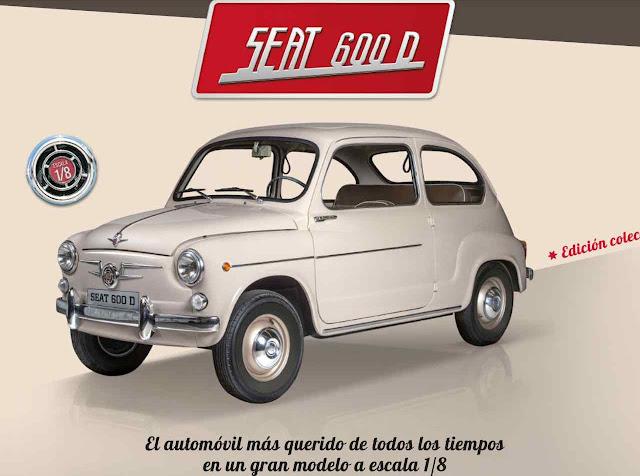 Propaganda em jornal espanhol do 'carro mais amado em todos os tempos'. A versão 500 atualizada percorre as ruas de São Paulo.
